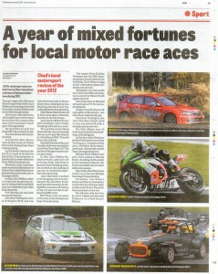 Mansfield CHAD 09-01-2013 Motorsport Review 2012
