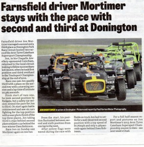 Mansfield / Ashfield CHAD 24-07-2013 Mortimer Donington