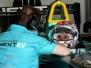 FIA Formula E Testing Donington Park 23rd August 2016