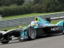FIA Formula E Testing Donington Park 7th September 2016