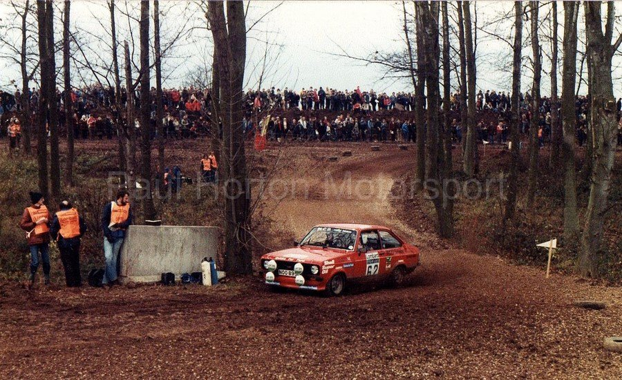 Lombard Rac Rally 1981 Ss3 Donington Park Paul Horton