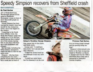 Barnsley-Chronicle Garmin Arenacross UK 21-02-2014