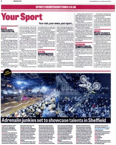 Derbyshire Times Garmin Arenacross UK 30-01-2014