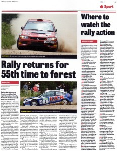 CHAD 04-06-2014 Dukeries Rally Preview