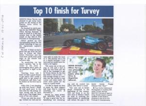 Cumberland Westmorland Herald 13-02-2016 Oliver Turvey Formula E