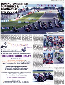 Derbyshire Gaudian Issue 22-2014 MCE British Superbikes
