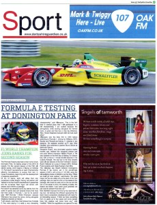 Derbyshire Gaurdian Issue 33 Oct 2015 Formula E-1
