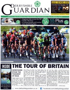 Derbyshire Guardian Issue 33 10-10-2015 Tour of Britain - 1