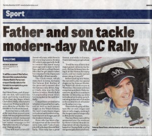 Derbyshire Times 09-11-2017 Seb- Steve Perez RAC Rally Preview