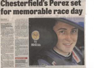 Derbyshire Times June 2016 Seb Perez