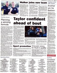 Newark Advertiser 13-11-2014 BSB Chris Walker