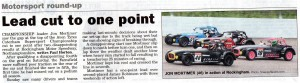 Newark Advertiser 25-07-2014 Caterham Supersport