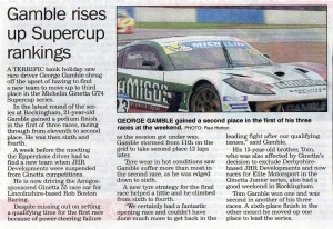 Newark Advertiser 31-07-2017 Ginetta Gamble