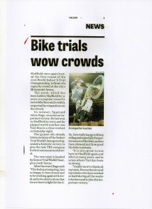 Sheffield Star 12-01-2016 FIA X-Trials 2016