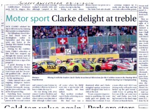 Surrey Advertiser 03-10-2014 BTCC